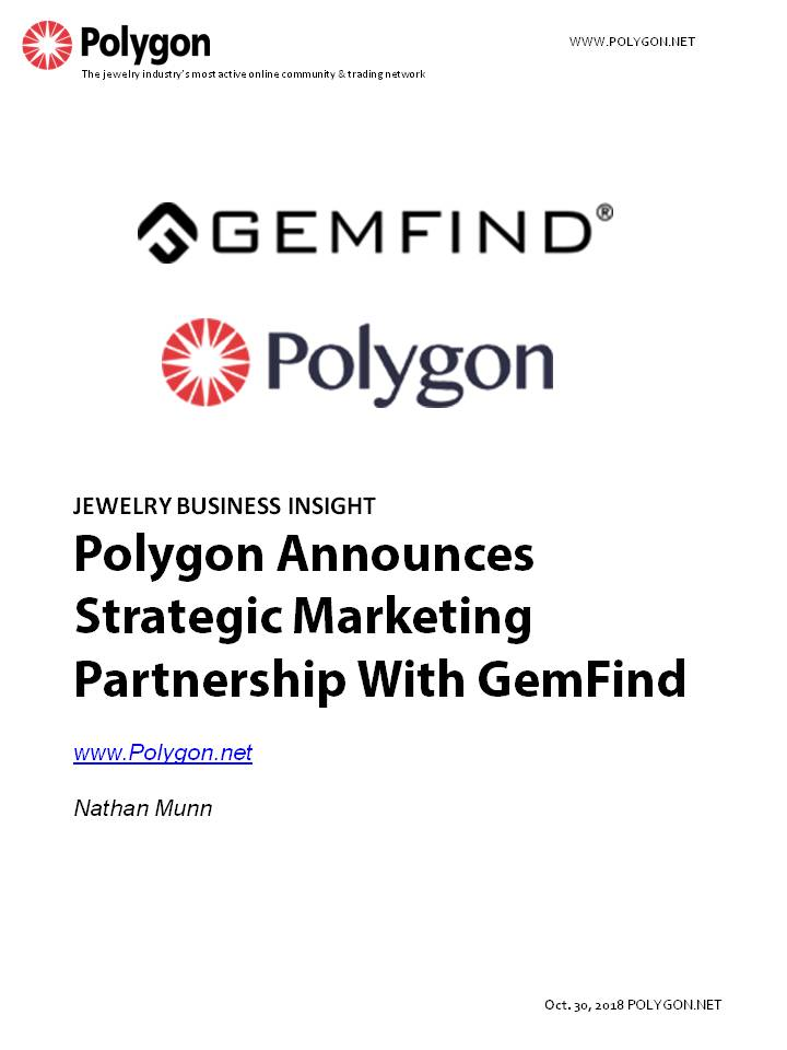 Polygon Announces Strategic Marketing Partnership With GemFind