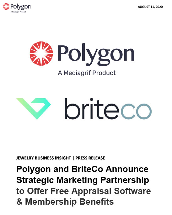 Polygon & BriteCo Announce Strategic Marketing Partnership to Offer Free Appraisal Software & Membership Benefits