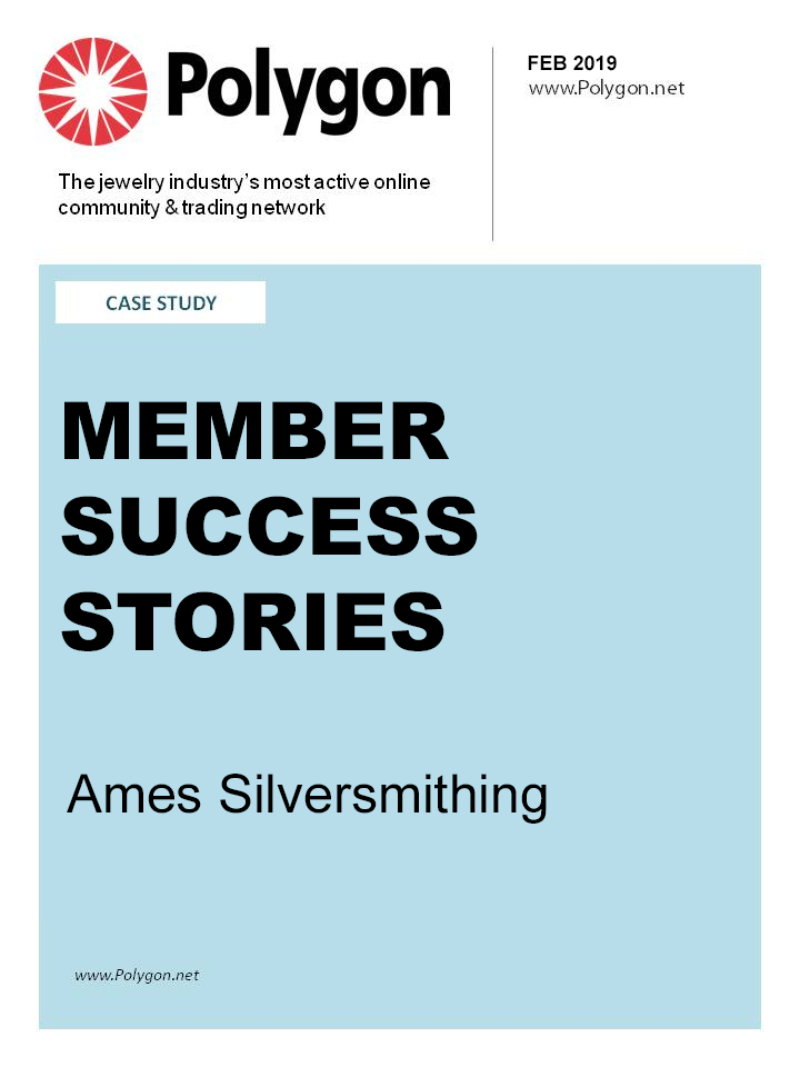 Member Success Stories: Ames Silversmithing