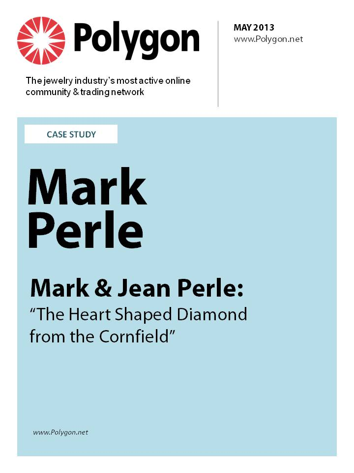 "Mark Perle - Mark & Jean Perle: ""The Heart Shaped Diamond From The Cornfield"""