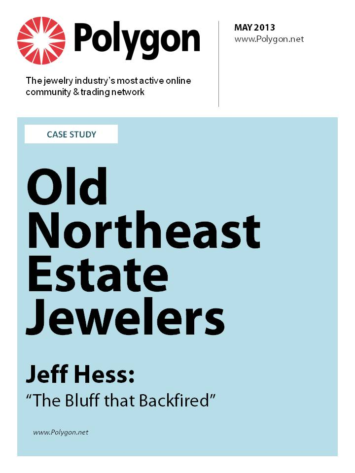 Polygon Profile Hess 2012 - Northeast Estate Jewelers
