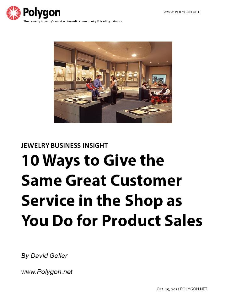 10 Ways to Give the Same Great Customer Service in the Shop as You Do for Product Sales
