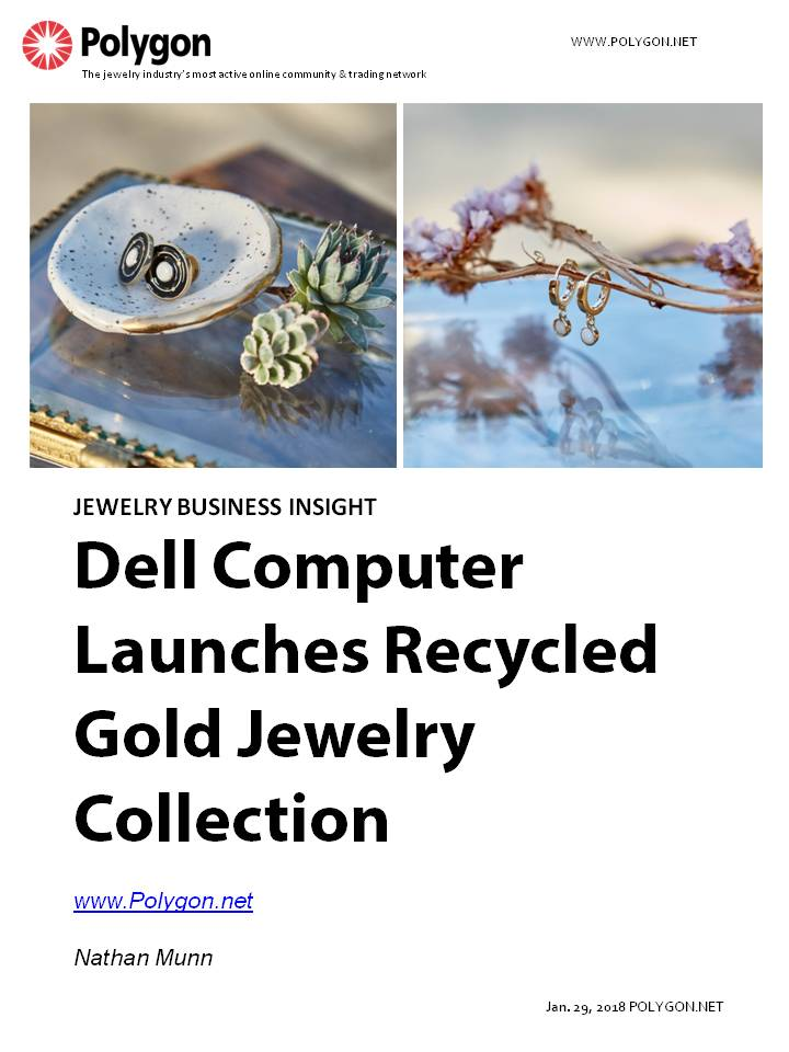 Dell Computer Launches Recycled Gold Jewelry Collection