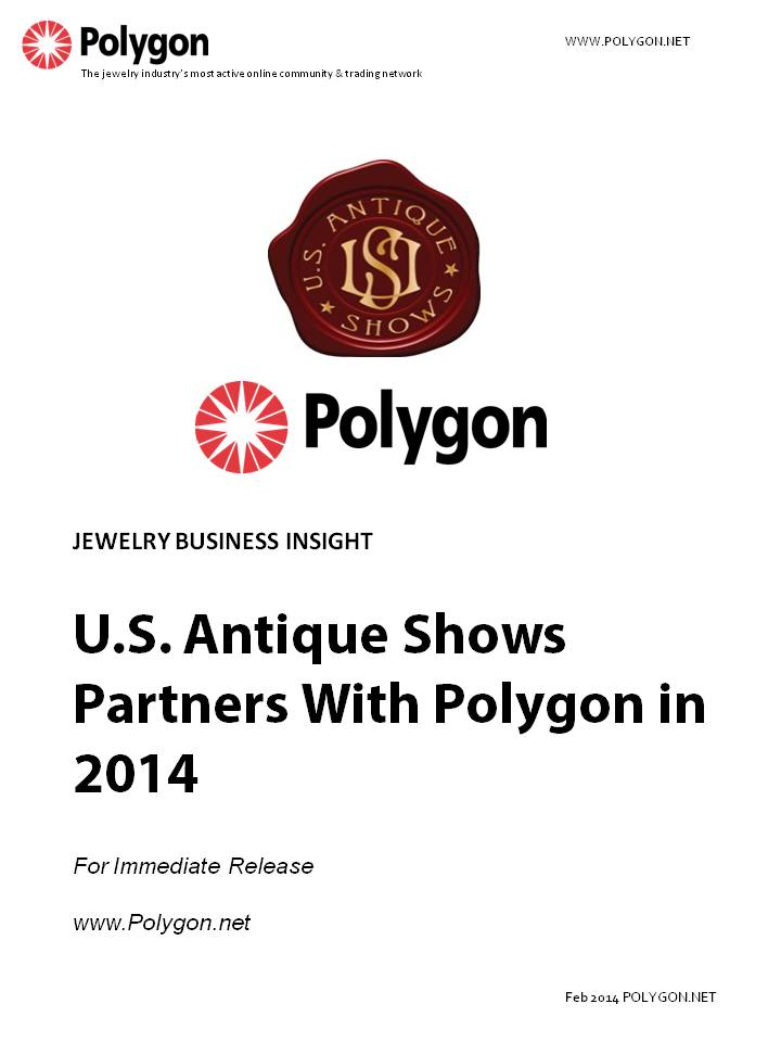 U.S. Antique Shows Partners With Polygon in 2014