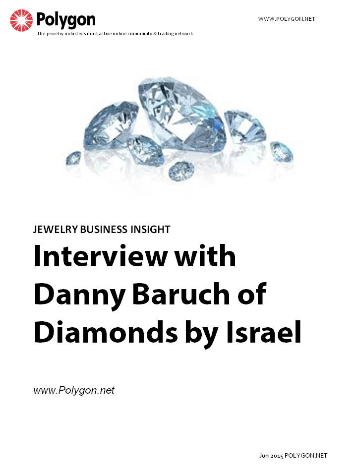 Interview with Danny Baruch of Diamonds by Israel