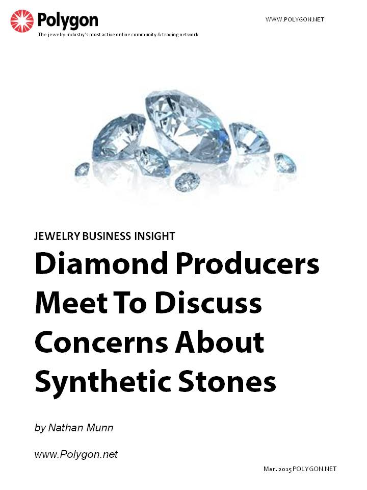 Diamond Producers Meet To Discuss Concerns About Synthetic Stones