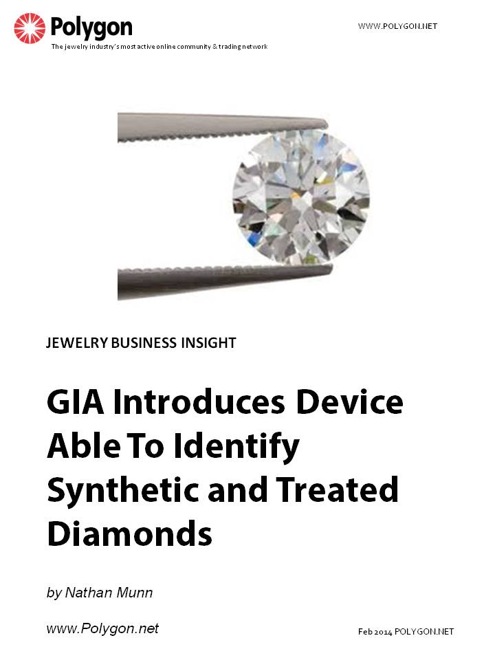 GIA Introduces Device Able To Identify Synthetic and Treated Diamonds