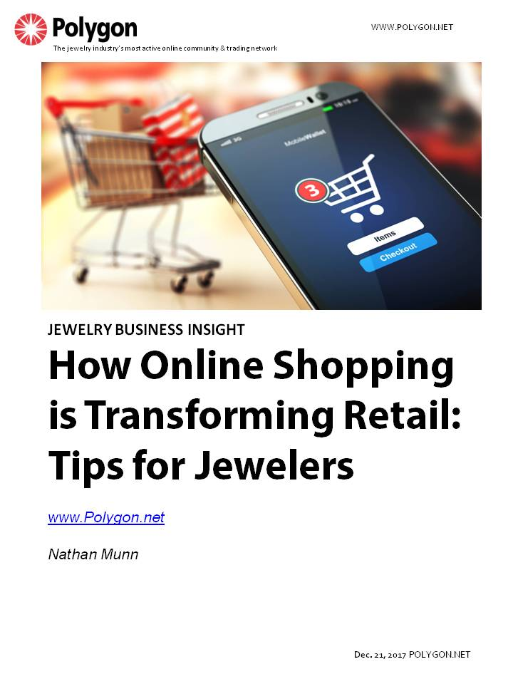 How Online Shopping is Transforming Retail: Tips for Jewelers