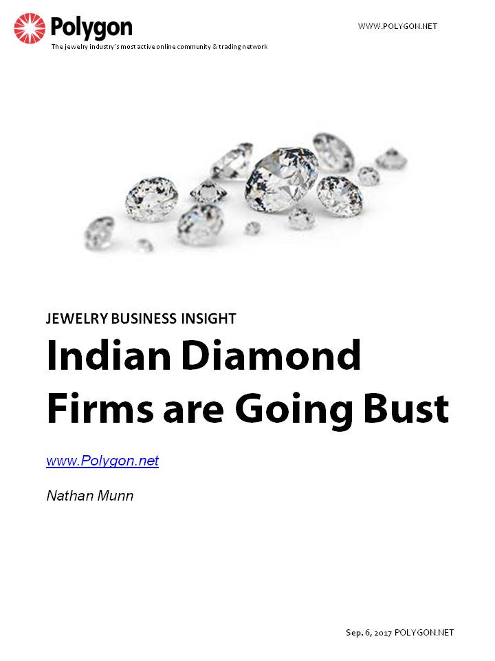 Indian Diamond Firms are Going Bust