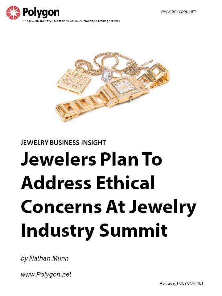 Jewelers Plan To Address Ethical Concerns At Jewlery Industry Summit