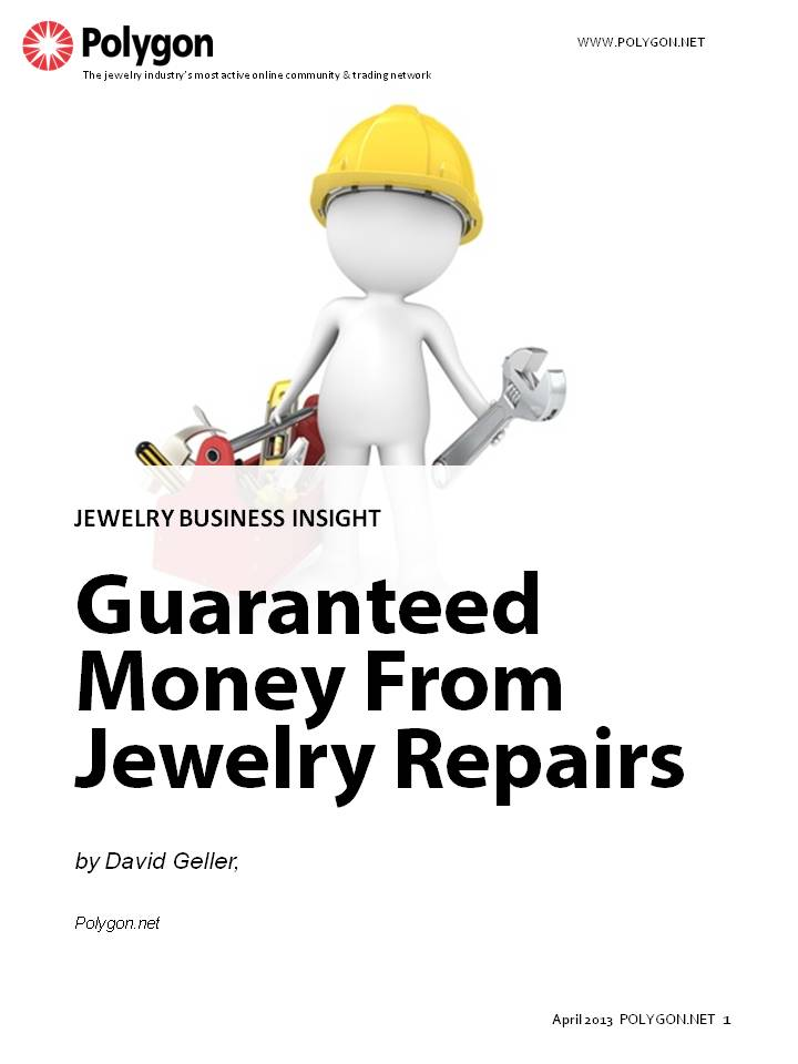 Wouldn't it be nice if getting all of the money from jewelry repairs prices was as wonderfully guaranteed as the perfume & cologne ads show for getting the person of your dreams?