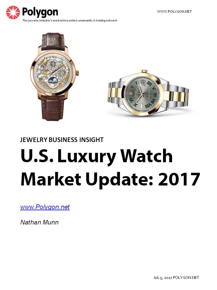 U.S. Luxury Watch Market Update: 2017