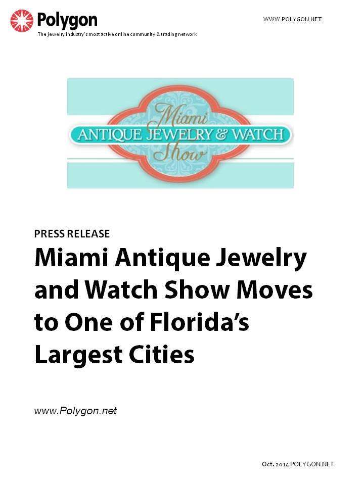Jewelry business insights for Miami beach jewelry watch show