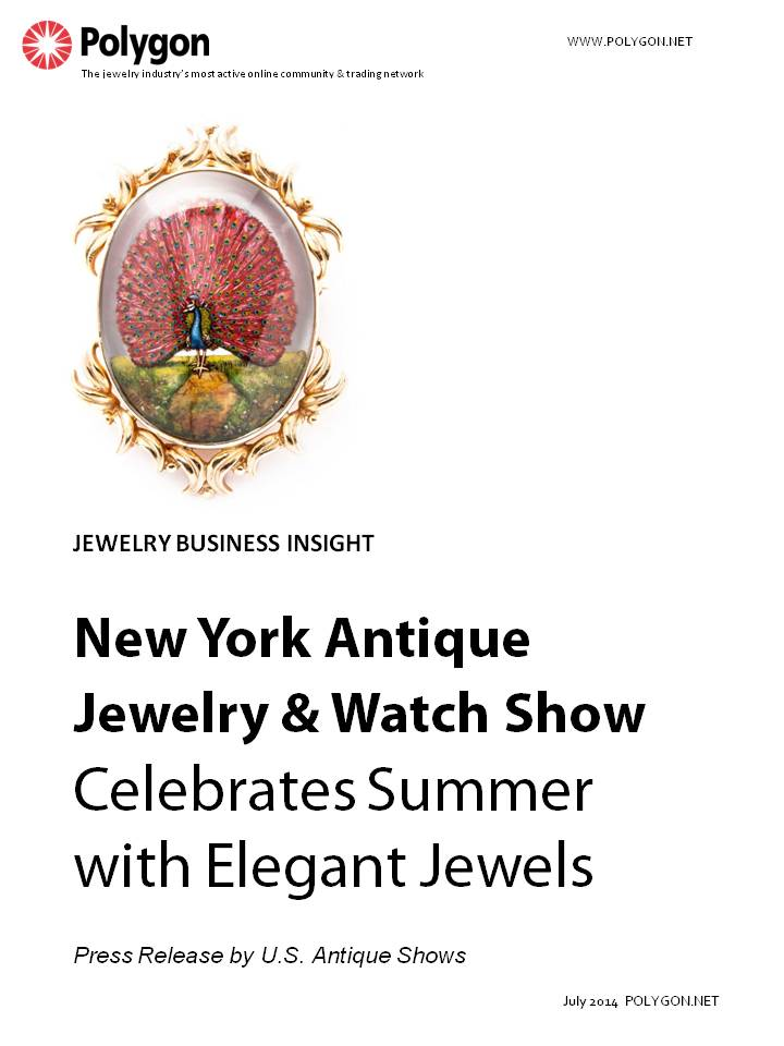 The New York Antique Jewelry & Watch Show Celebrates Summer with Elegant Jewels
