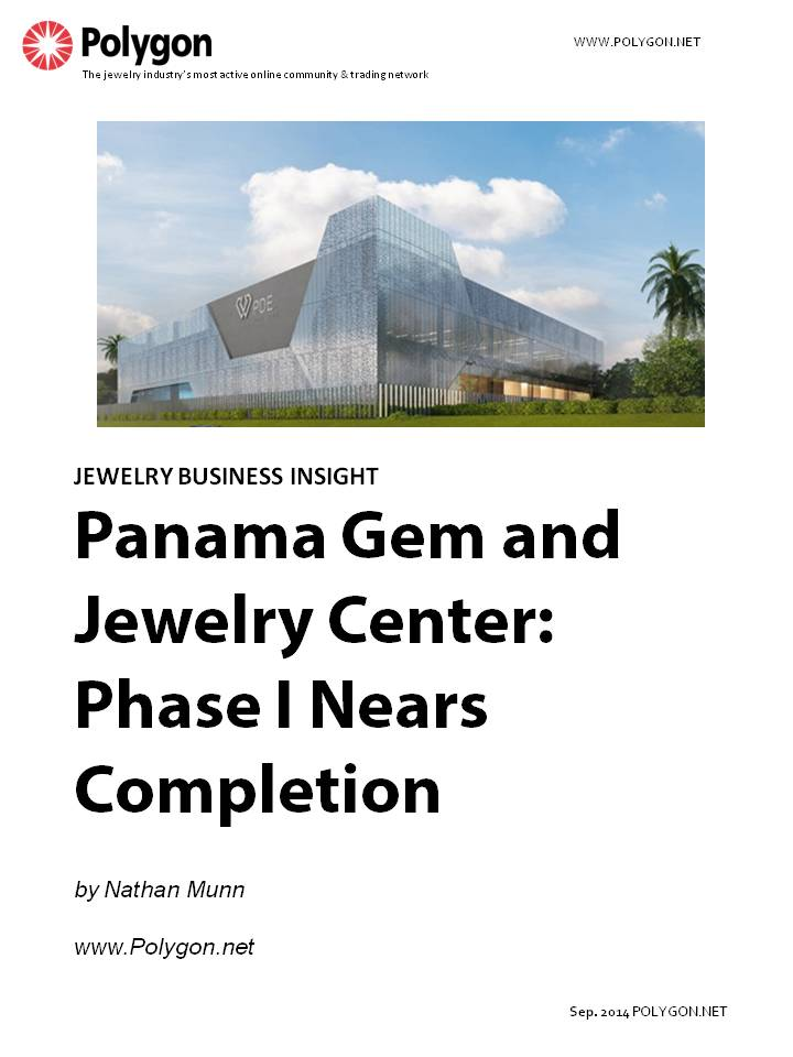 Panama Gem and Jewelry Center – Phase I Nears Completion in Panama City