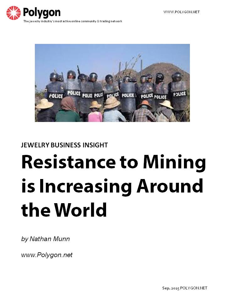 Resistance to Mining is Increasing Around the World