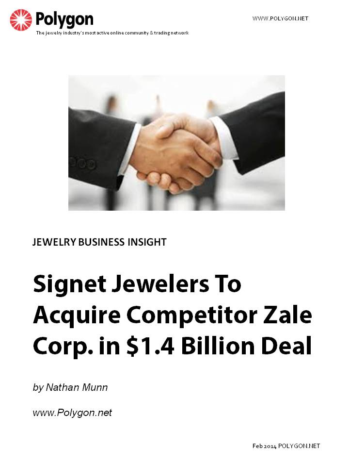 Signet Jewelers To Acquire Competitor Zale Corp. in $1.4 Billion Deal