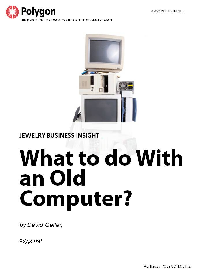 What to do with an old computer, no matter how old? How about telling the computer to increase shop profits!